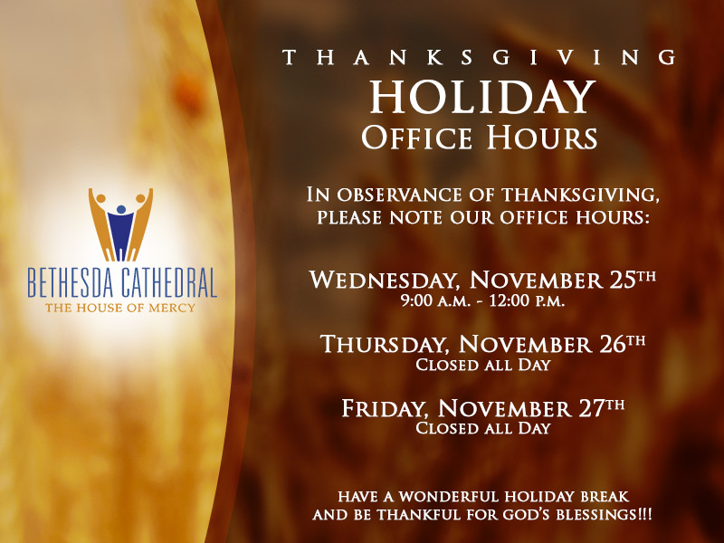 Holiday Hours rv