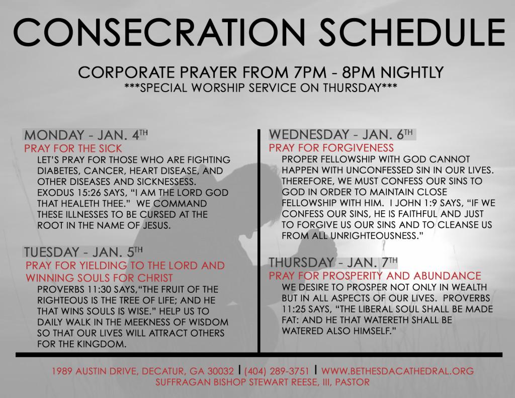 Consecration 2016 B