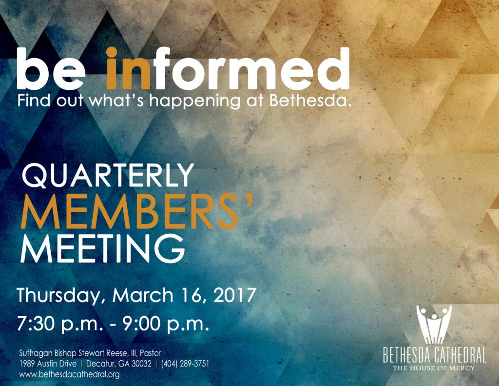 Members' Meeting March 2017