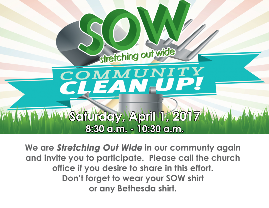 SOW Clean Up Day